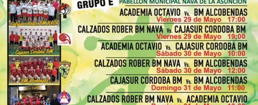 Nava de la Asunción acoge este fin de semana el intersector infantil del Campeonato de España