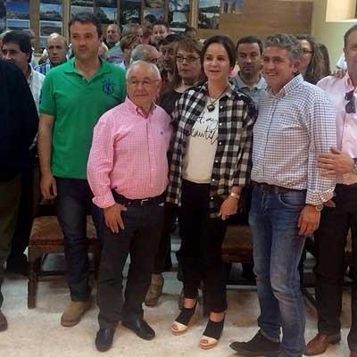 Silvia Clemente reafirmó en Fuentidueña su compromiso con el medio rural