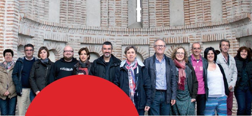 Imagen de la candidatura de IU a la alcaldía de Cuéllar que ilustra su programa electoral.