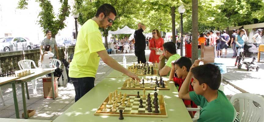 III Torneo de Ajedrez 'Villa de Cuéllar' el domingo 19 de julio