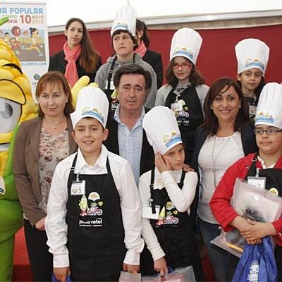 El II Certamen Cuéllar Chef Junior ya cuenta con 11 finalistas