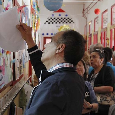 Un 51,67 % de los cuellaranos han pasado por las urnas hasta las 18.15 horas