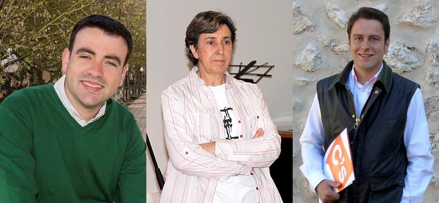 Carlos Fraile, Montserrat Sanz (IU) y Luis Alberto Quevedo (Cs) expondrán sus propuestas a los vecinos.