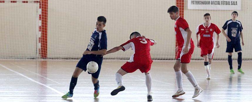 Juveniles y alevines del FS Naturpellet disputan las semifinales de copa