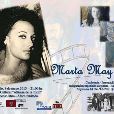 Conferencia y proyección con Marta May