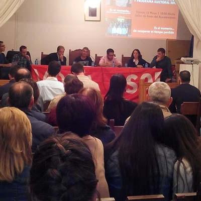 El PSOE presentó sus 50 propuestas para Carbonero el Mayor