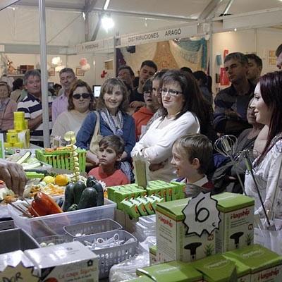 Mucho público en la segunda jornada de la Feria de Cuéllar