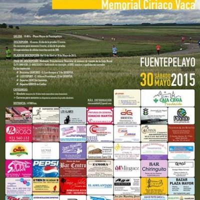 IX Subida a San Cebrián en Fuentepelayo a partir de las 19.00 horas