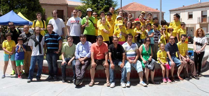 Participantes en el torneo de Aguilafuente.