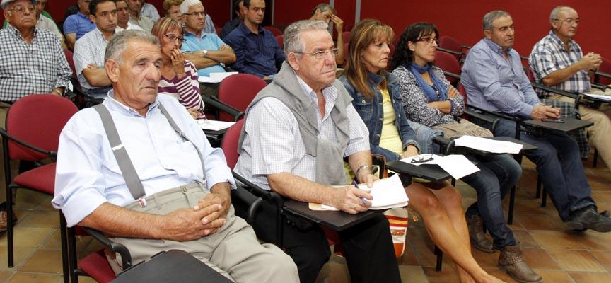 Luis Berzosa, segundo porla izquierda, será uno de los homenajeados.