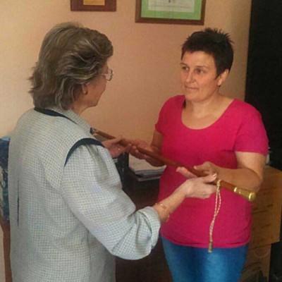 Mª Cruz Sancho toma posesión como alcaldesa pedanea de Chatún