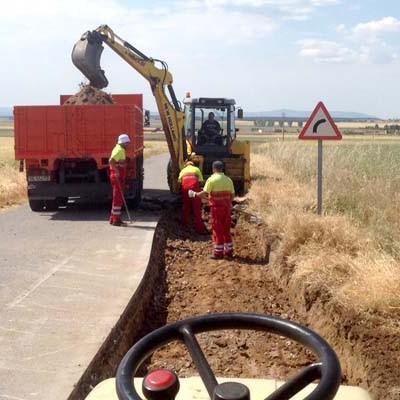 La Diputación actuará en carreteras de la comarca en el nuevo Plan de Carreteras 2016-2018