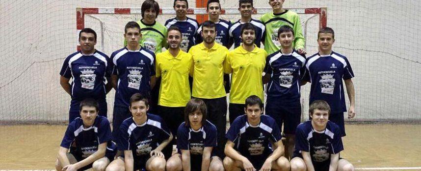 Los juveniles del FS Naturpellet disputarán el domingo la final de la Copa Delegación en Segovia