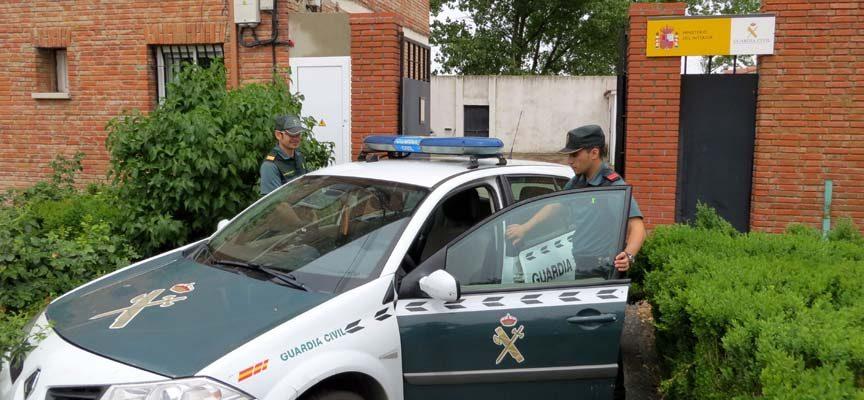 La Guardia Civil de Cuéllar detiene a dos personas por intentar estafar al seguro