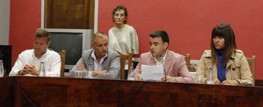 El grupo municipal del PSOE crítico con la composición de las comisiones y la subida de los salarios de los ediles liberados