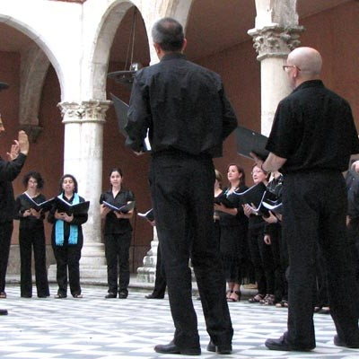 Música coral medieval de cámara en la iglesia del Santuario de El Henar