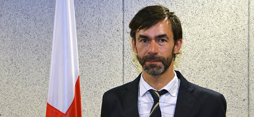 José Luis Montero, presidente de Cruz Roja en Segovia