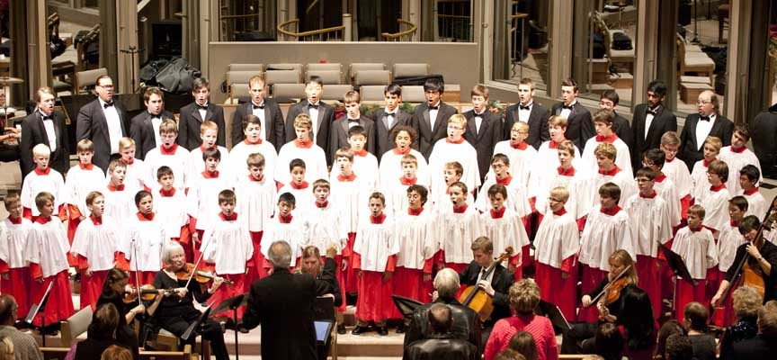 """La actuación del coro de niños """"Phoenix Boys Choir"""" se traslada mañana a la iglesia de San Andrés"""