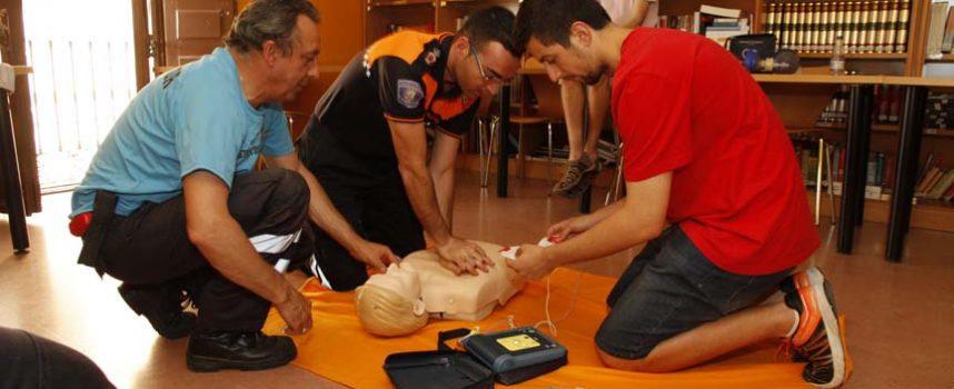 La Asociación Amanecer organiza un taller de primeros auxilios en Cuéllar