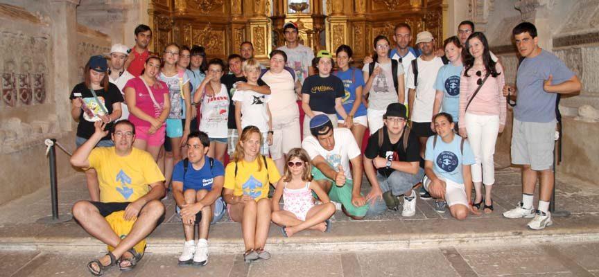 Visita a la iglesia de San Esteban de Cuéllar.