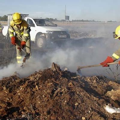 La Junta alerta del incremento de riesgo meteorológico de inicio y propagación de incendios forestales hasta el miércoles