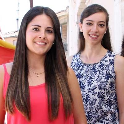 Lorena Moreno, Sheila Alonso y Cristina Benito representaran a la juventud cuellarana en las fiestas de 2015