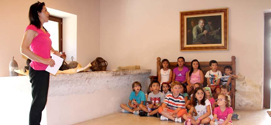 Un momento de uno de los talleres impartidos en Tenerías.