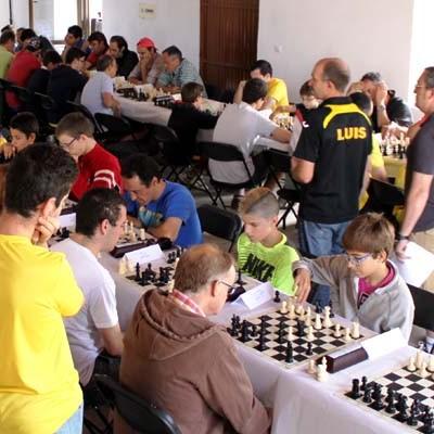 Jorge Juan Calvo vencedor de la prueba de ajedrez de Adrados