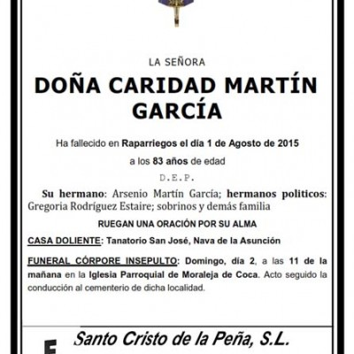 Caridad García Martín