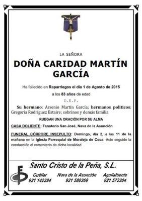 Esquela Caridad Martin_001