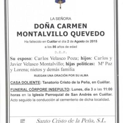 Carmen Montalvillo Quevedo