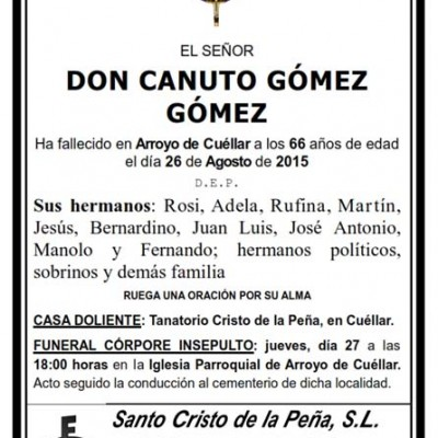 Canuto Gómez Gómez