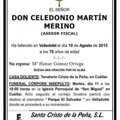Celedonio Martín Merino