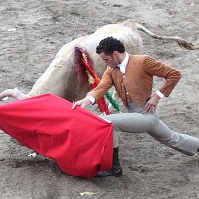 Gran festival taurino en Aguilafuente