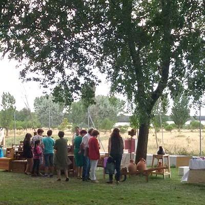 Fuenterrebollo celebra su V Feria de Artesanía y Alimentación