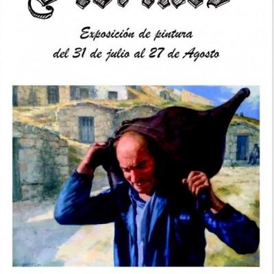 La pintura del segoviano Florines en el centro Las Tenerías hasta el 27 de agosto