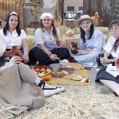 Navalmanzano recordó antiguos usos y costumbres en su feria