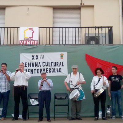 "El Festival de Folclore ""Serafín Vaquerizo"" sirvió de prólogo a la XIV Semana Cultural de Fuenterrebollo"