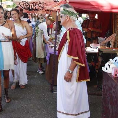 El Mercado Romano de Coca devolvió a la villa su esplendor