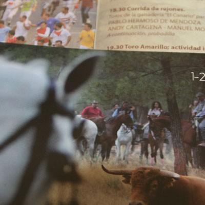 Cultura inicia la distribución de los programas de las fiestas de Cuéllar de 2015