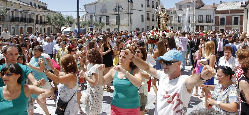 Campaspero inicia sus fiestas en honor a Santo Domingo de Guzmán