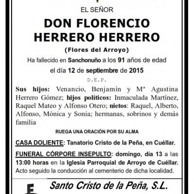 Florencio Herrero Herrero