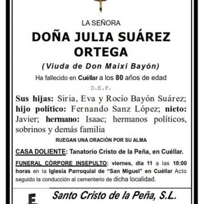 Julia Suárez Ortega