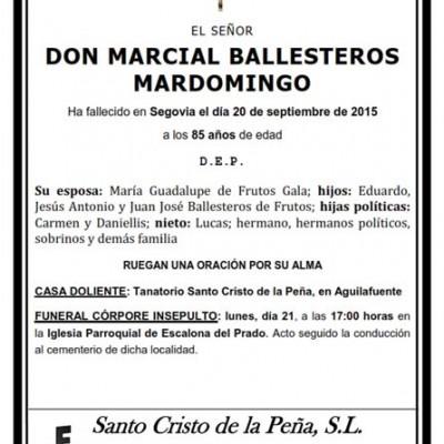 Marcial Ballesteros Mardomingo