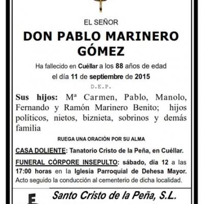 Pablo Marinero Gómez