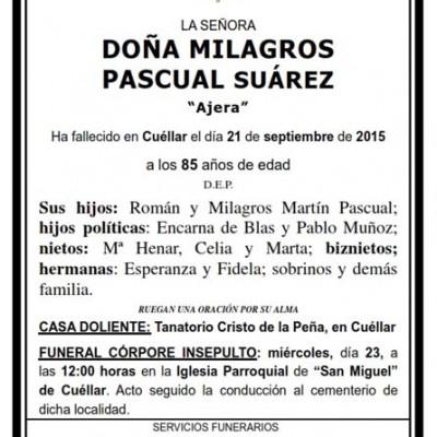 Milagros Pascual Suárez