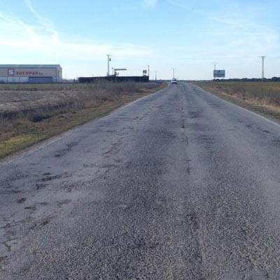Diputación refuerza el firme de un tramo de la carretera de Vallelado a Coca