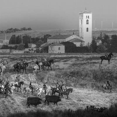 """Teodoro Marcos, ganador del primer premio del Concurso fotográfico """"Fiestas de Cuéllar 2015"""""""