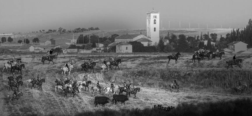 Primer premio del concurso fotográfico Fiestas de Cuéllar 2015