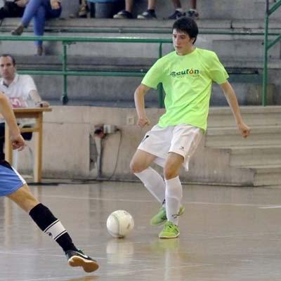 Última visita del equipo juvenil del FS Cuéllar en su primera temporada en la División de Honor